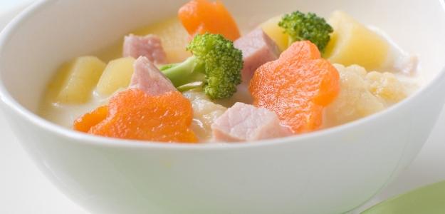 Rýchla zeleninová polievočka na pare