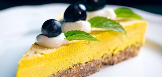 Hroznový cheesecake