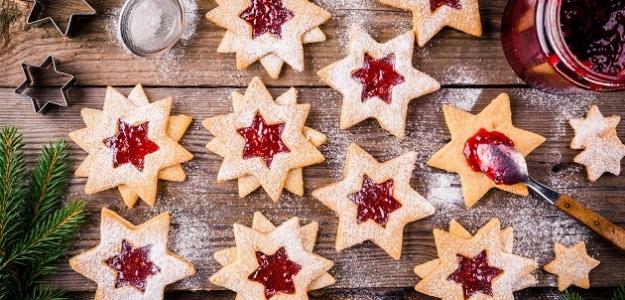 Linecké vianočné koláčiky
