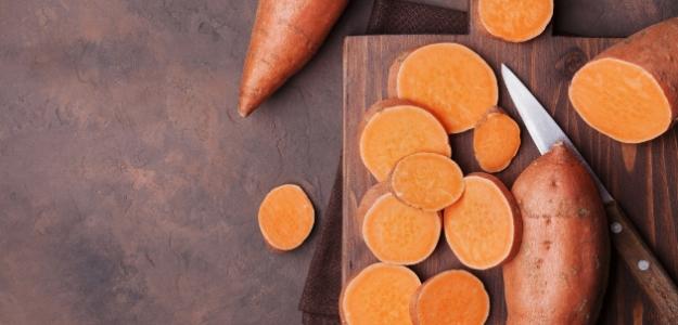 Pečený sladký zemiak