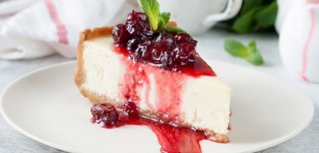 NEPEČENÝ čerešňový cheesecake