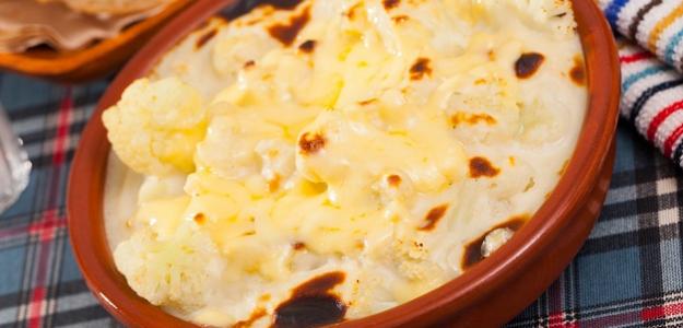 Zapekaný karfiol so zemiakmi