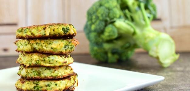 Brokolicové placky