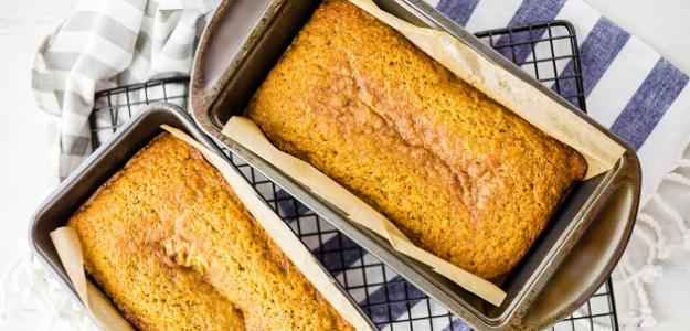 Sladký tekvicový chlieb (od 2 rokov)