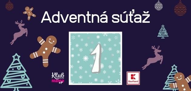 Adventný kalendár: 1. december