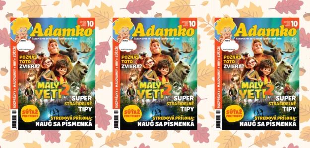 Nakuknite do októbrového Adamka