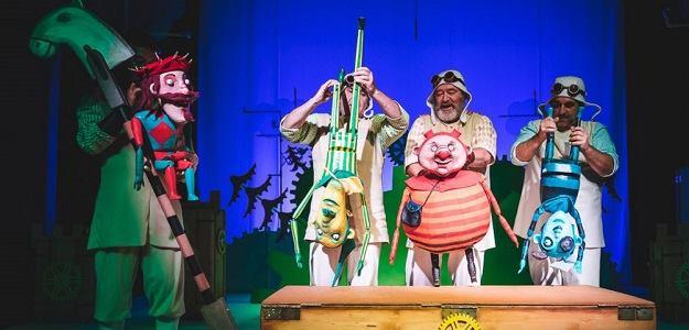 Poďte do divadla: Dlhý, Široký a Bystrozraký