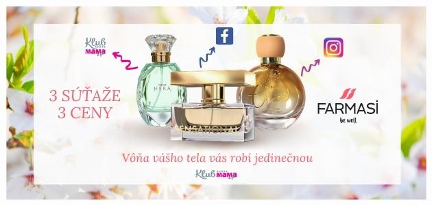 Vyhrajte darček k MDŽ: Cíťte sa ako bohyňa s vôňou od FARMASI!